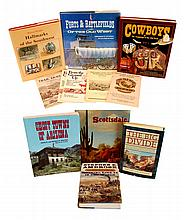 (12) Western & Southwestern Book Lot