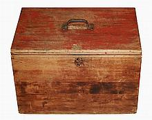 Antique Wooden Ballot Box, Arizona Territory