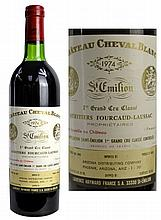 1974 French Wine, St. Emilion Chateau Cheval Blanc