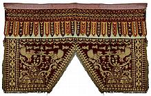 Mid-East Asian Textile Metallic Thread Quilting