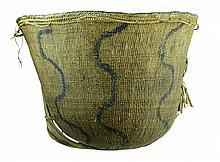 Vintage South American Mamure Vine Burden Basket