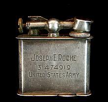 WWI Era U.S. Army Sterling Silver Flip Top Lighter