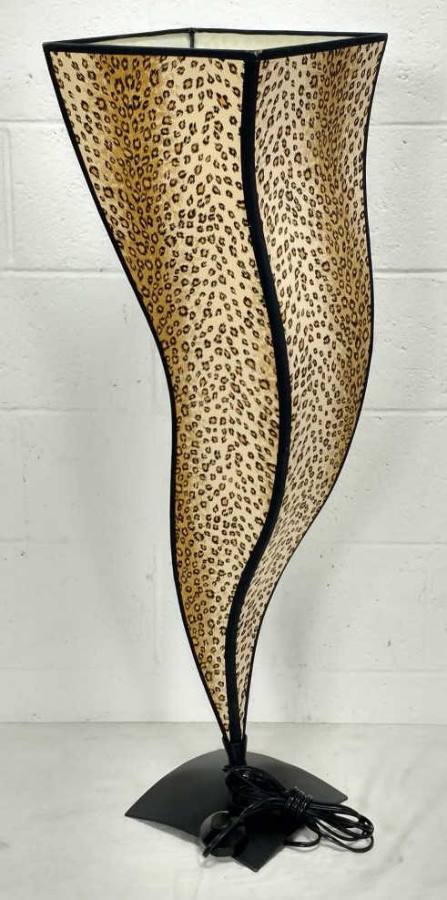 Leopard print shade floor lamp for Floor lamp with leopard shade