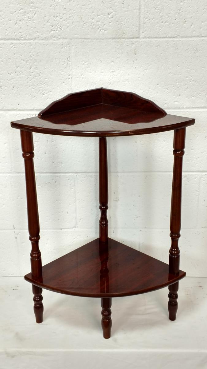 Wooden corner accent table for Accent tree for corner of house