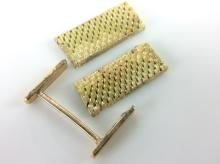 3Pc. 18K Scrap Gold Watch Band & Findings