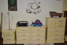 3 Piece Henry Link Painted Children'S Bedroom Furniture Set