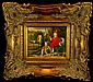 Antique Roma Oil Painting