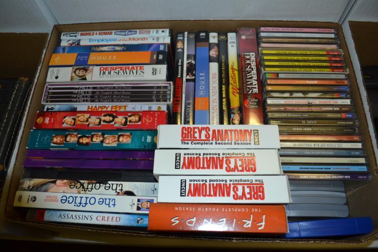 Dvd Box Sets Nintendo 64 Games And Music Cds Lot