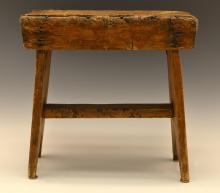 20th C. Rustic Country Stool