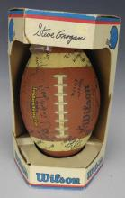 Wilson Youth League Autographed Football