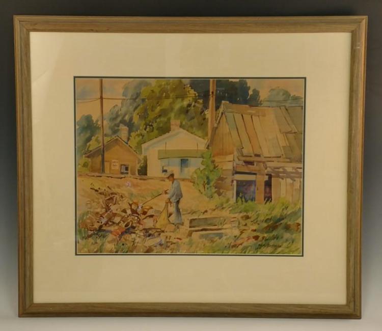 Nile Behncke Juried Show Watercolor