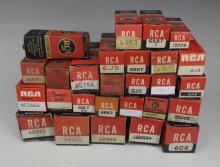 RCA Eletronic Vacuum Tube Lot
