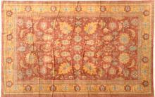 20th C. Persian Floral Rug