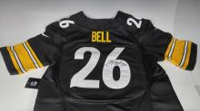Pittsburgh Steelers Le'Ve Autograhped Jersey #26