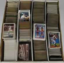 1980-90 Various Teams Topps Baseball Cards