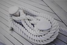 Nautical Knot Print on Canvas