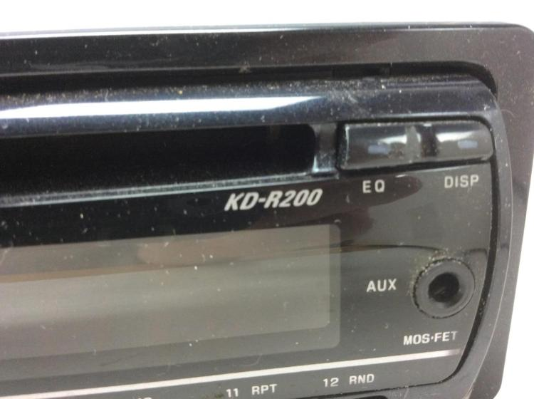 jvc kd r200 car audio cd player. Black Bedroom Furniture Sets. Home Design Ideas