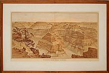 Julius Bien & Co Point Sublime Geological Survey 1