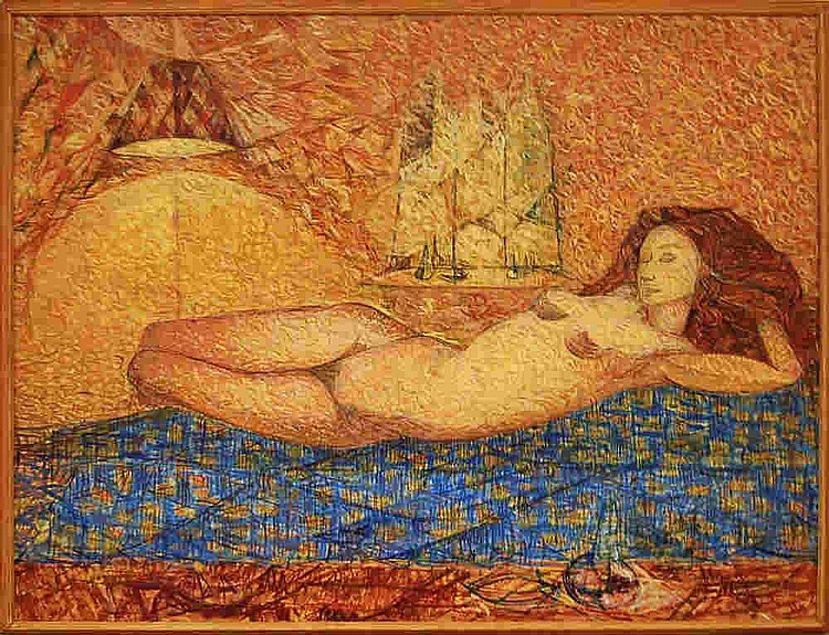 Wladyslaw Brzosko (1912-2011) Nude
