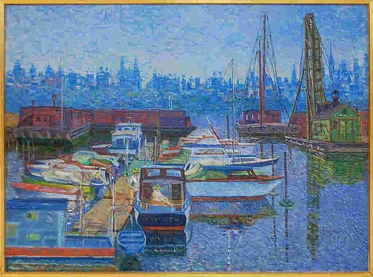 Wladyslaw Brzosko (1912-2011) Raymond's Marina