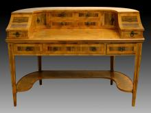 Vintage Carleton House Writing Desk