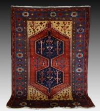 Hand Made Persian Patterned Rug