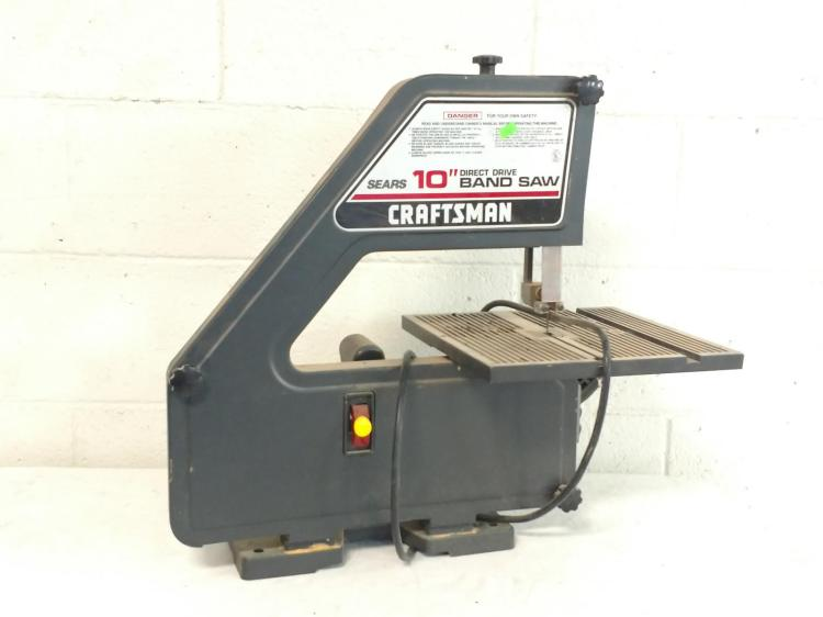 Craftsman 10 Quot Direct Drive Band Saw
