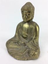 20th C. Brass Buddha Figurine