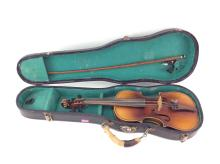 Early 20th C. Reproduction Child's Stradivarius
