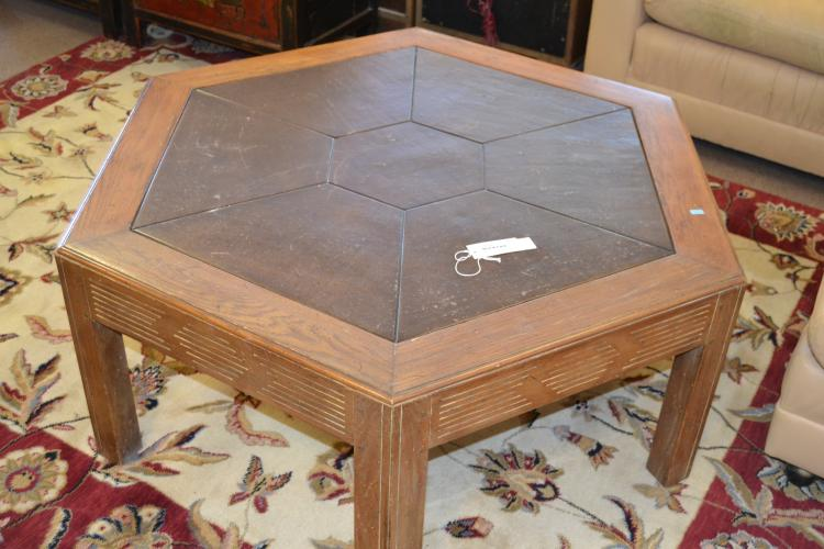 Drexel Heritage Octagonal Coffee Table