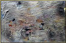 Jules Olitski (1922-2007) Irkutsk Acrylic Painting