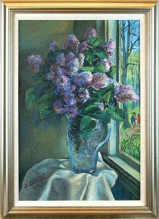 David D. Burliuk (1882-1967) Still Life Painting