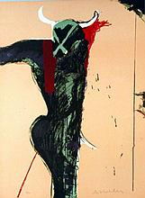 Fritz Scholder (1937-2005) Ltd. Ed. Lithograph #2