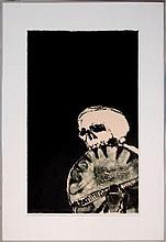 Fritz Scholder (1937-2005) Ltd. Ed. Lithograph #6