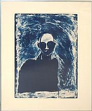 Fritz Scholder (1937-2005) Ltd. Ed. Lithograph #8