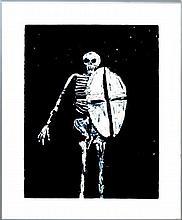 Fritz Scholder (1937-2005) Ltd. Ed. Lithograph #9