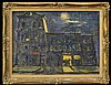 Y. Ginsburg Oil Painting, San Francisco Bar & Nude, Yankel Ginsburg, Click for value