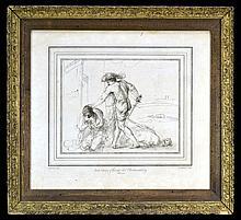 William Hebert 1762 Etching,