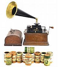 Antique Edison Fireside Phonograph, Model B