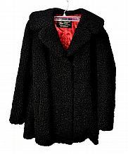 Persian Lamb Fur Coat, Wm. Bass, Philadelphia