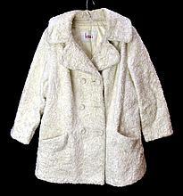 Vintage White Fur Coat, Hess Retailers