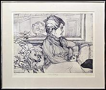 M. Jacques Etching,