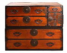 #1 Asian Stacking Tansu Chests  w/ Drawers