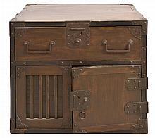 #4 Small Asian Tansu Chest  w/ Drawers