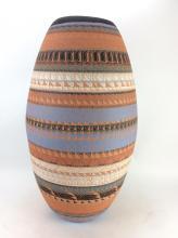 Large Signed Native American Navajo Pottery Jug