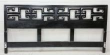 Lacquered Asian King Headboard