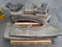 Cast Concrete Bench
