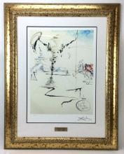 Salvador Dali Don Quixote Print