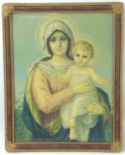 Madonna & Child Print