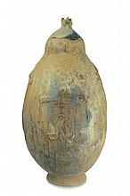 Burkina Terracotta Pot w/ Cover